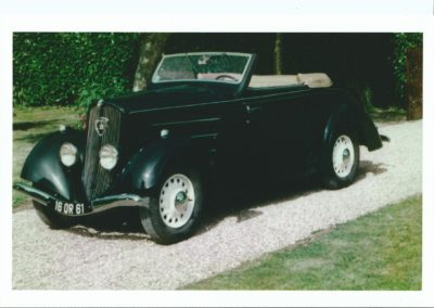Peugeot 201 M cabriolet 1937