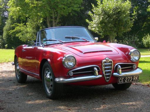 Alfa Roméo Giulia Spider 1963