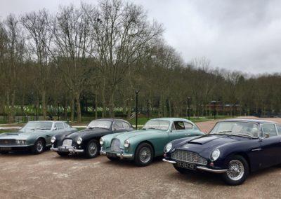 clubdelauto. rassemblement terrasse du Fecheray Aston Martin